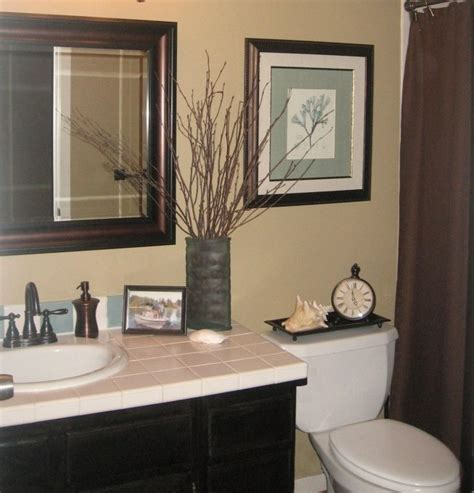 beige and black bathroom ideas guest bath makeover total cost 240 chocolate