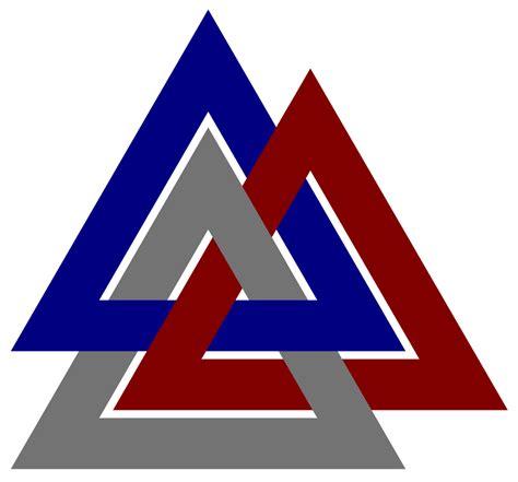 What Is The Symbol by Fil Valknut Symbol Borromean Svg