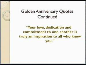 50th wedding anniversary quotes youtube for 50th wedding anniversary quotes