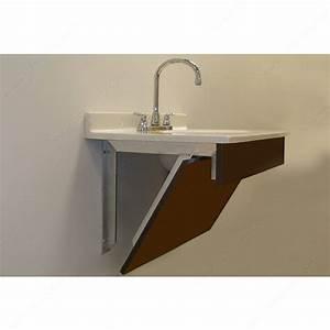 Support pour meuble lavabo avec façade de montage en bois Quincaillerie Richelieu