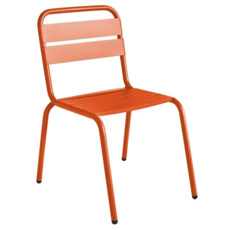 aluminum stackable outdoor chair in colors contract