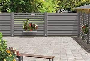 Jardinière Brise Vue : brise vue moderne et original en aluminium cosmos par ~ Premium-room.com Idées de Décoration