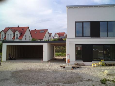 Danwood Haus Mit Garage by Garagen Carport Kombination Als Fertiggarage Garage In