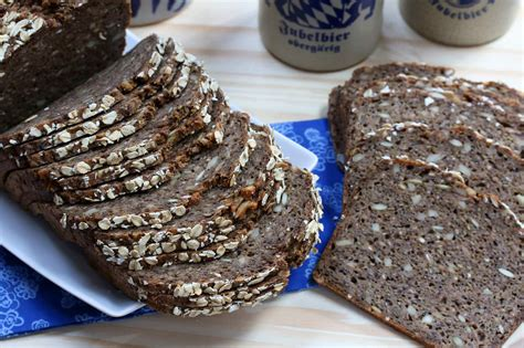 Add ½ of the combined flours to the yeast and beat with a wooden spoon for 10 minutes. Danish Rye Bread (Rugbrød) - The Daring Gourmet