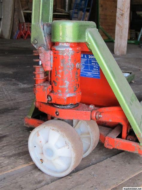 reservdelar bt handtruck pneumatisk transport med vakuum