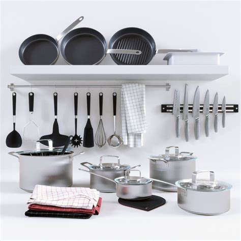 cookware collection cgtrader
