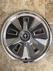 Omaha : 1966 Ford Mustang Deluxe Spinner Wheel Covers Exterior Accessories