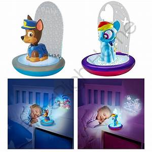 Paw Patrol Lampe : 3 in 1 magic go glow night light paw patrol my little pony disney cars ebay ~ Whattoseeinmadrid.com Haus und Dekorationen
