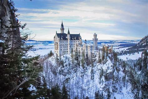 winter wonderland photograph neuschwanstein castle