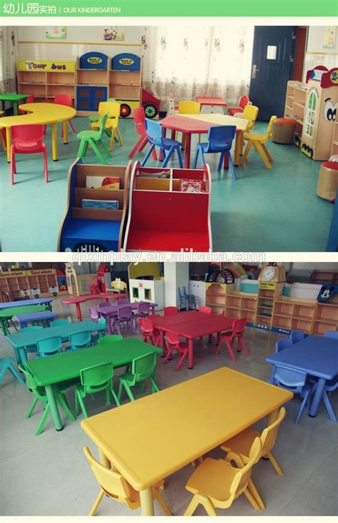 2016 guangzhou cheap preschool furniture kindergarten