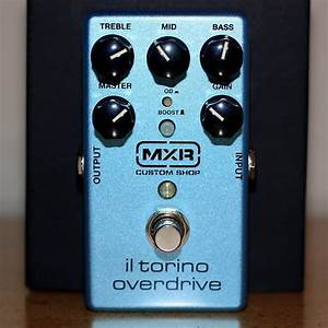 Mxr Csp033 Custom Shop Il Torino Overdrive Pedal  With