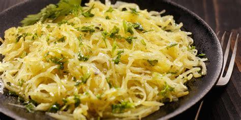 recipes with spaghetti squash spaghetti squash recipe with garlic butter