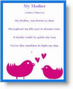 Mothers Day Poems For Kids | www.pixshark.com - Images ...