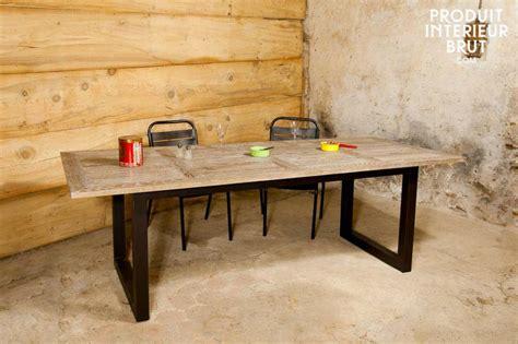 Table En Chene Brut Table En Ch Ne Table De Ferme Ancienne L On En