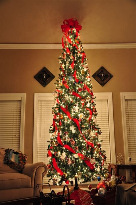 25 awesome slim christmas tree decorations ideas magment