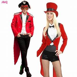 Luxury Halloween Lovers Costumes Tuxedo Male Magician ...