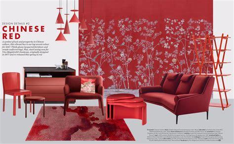 chinese red interior design ideas interiors  color