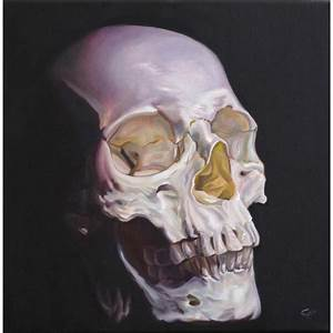 Insanely Awesome Skull Paintings by Chadpierce CrispMe