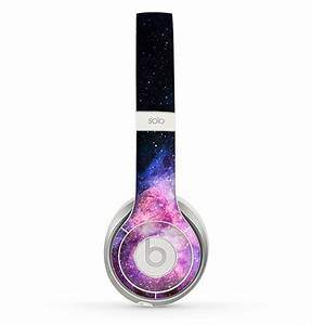 The Vibrant Purple and Blue Nebula Skin for the Beats by ...