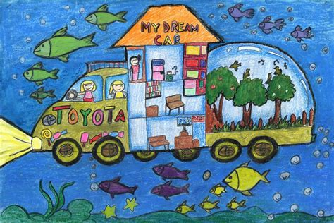 toyota dream car art contest winners artwork