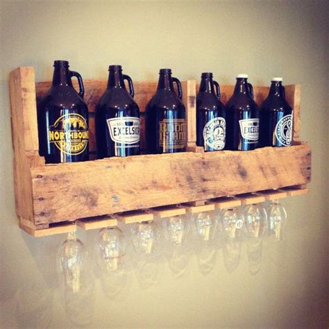 how to a glass shelf distressed growler display shelf with by