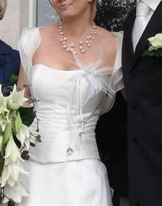 robe de mariee ivoire jupon bijoux collier de perles With robe ceremonie avec bijoux mariage perle pas cher