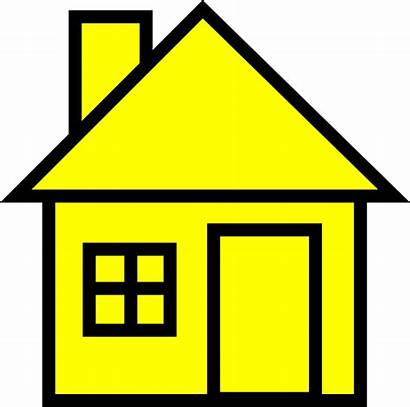 Clipart Clip Yellow Clker Orangehouse Grayhouse Yellowhouse