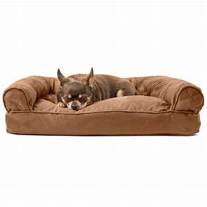furhaven quilted pillow sofa dog bed pet bed ebay With quilted sofa pet bed