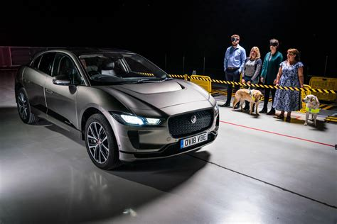 Guide Dogs Bark Of Approval To Jaguar Ipace Pedestrian
