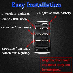 Pin Rocker Switch Wiring Diagram Winch