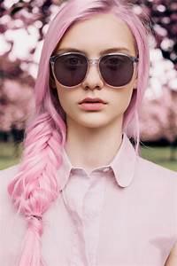 Couleur Cheveux Pastel : belle couleur cheveux rose pastel pour femme ~ Melissatoandfro.com Idées de Décoration
