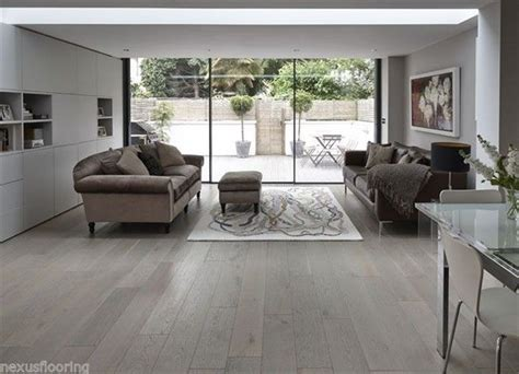 gray plank flooring engineered smoked grey brushed real wood wooden 1330
