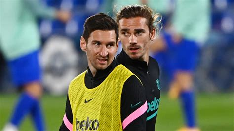 Messi and Griezmann would face competition at Atletico ...