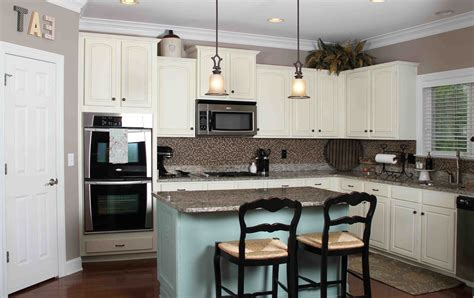 kitchen island makeover ideas top implementation of kitchen wall colors with white