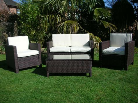 Garden And Patio Furniture by New Garden Rattan Wicker Outdoor Conservatory Furniture