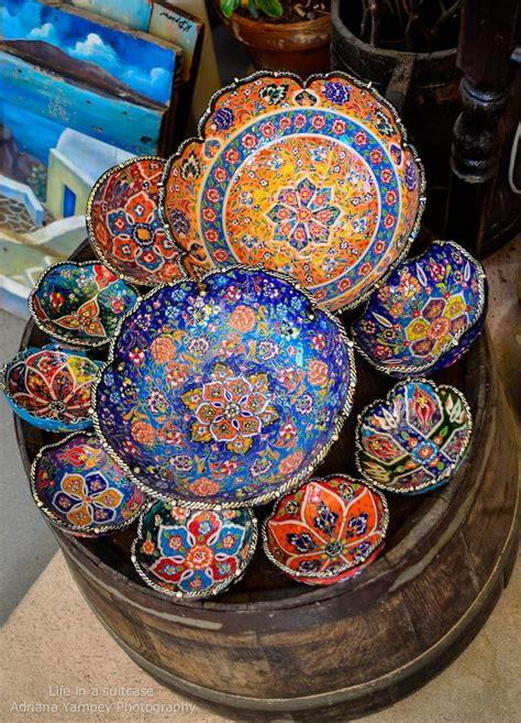 greek pottery  oia santorini pottery  ceramics