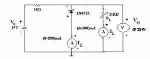 electronic devices and circuits lab notes zener diode With above fig 2 a wiring diagram of a for ward and reverse jogging