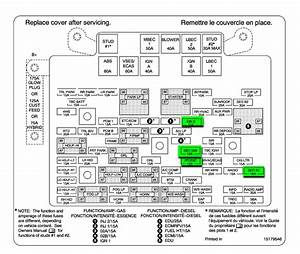 2005 Gmc Yukon Denali Fuse Box Diagram