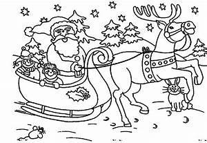40 Santa Claus Coloring Pages - ColoringStar