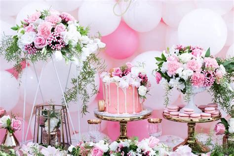 kara s party ideas pink white gold garden party kara
