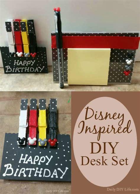 gifts for disney fans adorable disney inspired diy desk set