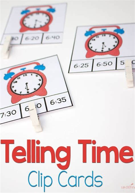 printable time clip cards    hours