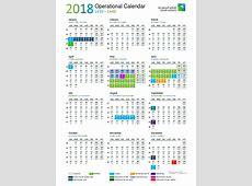 2018 Operational Calendarpdf