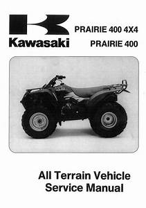 1997 Kawasaki Kvf400a1 Prairie 4x4 Service Repair Manual