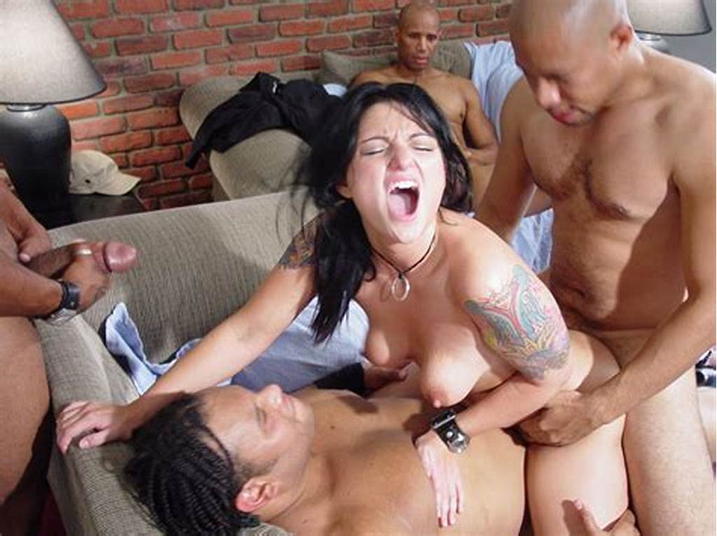 #Four #Horny #As #Hell #Studs #Fuck #The #Shit #Out #Of #Pretty #Faced