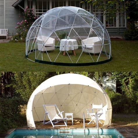 garten iglu glas garden igloo pavillon gew 228 chshaus four seasons