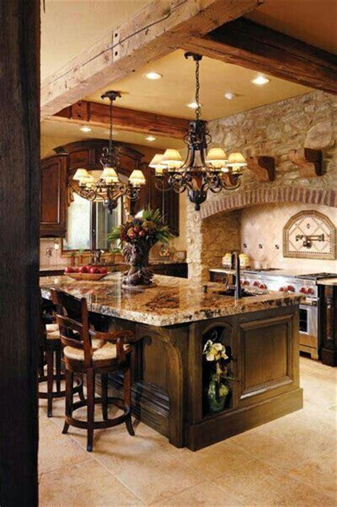 beautiful rustic kitchens beautiful rustic kitchen dream home pinterest
