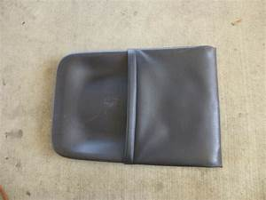 Lincoln Ls 2000 2001 2002 Front Seat Back Panel Black