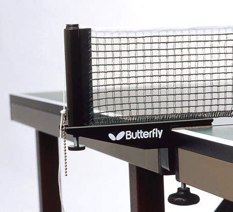 ping pong table net butterfly stallion table tennis net set usatt ping pong ebay