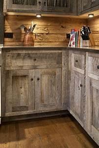 Meuble Bois Brut : la cuisine en bois massif en beaucoup de photos ~ Teatrodelosmanantiales.com Idées de Décoration